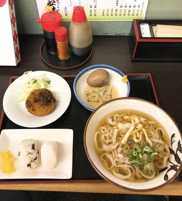 舩本うどん  アミコ店 - ふなもとランチ