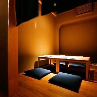 4名様~最大20名様までの個室を完備。完全個室もございます。