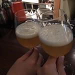 LOCAL BAR 新栄EIGHT - ニュートン 毎回飲む青リンゴフレーバーのビール。甘ったるくなく、程よく甘いのが気に入っている♪フレーバーによって、ビール独特の苦みが得意でない私もおいしくいただけますっ!! 2018/02/21