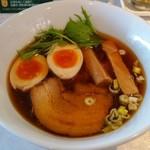 JAZZ麺 2.7 - 支那そば(しょうゆ) 700円 煮玉子 100円