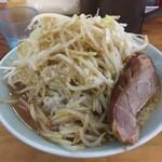 横浜家系ラーメン ひじり家 - 聖麺780円(野菜マシ)