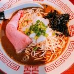中華蕎麦 志 - 濃厚煮干しソバ 醤油