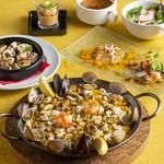 ラス ボカス - ランチコース料理(パエリアセット)