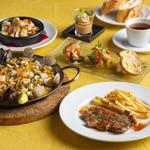ラス ボカス - ディナーコース料理