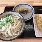 富士山 - 料理写真:かけ大&とり天&スジ肉