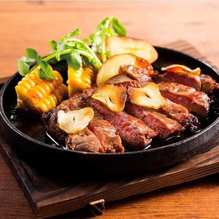 こだわりの厳選食材チルドのラム肉