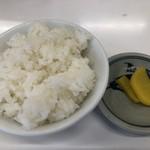 あさひ軒 - 料理写真:半ライス 100円