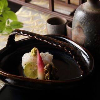 陶芸家『内田鋼一』氏×『はせ川』の最高の器で最高の料理を。