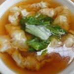 慶華飯店 - 海老ワンタン630円