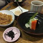 まるしん - ランチで鰆の西京焼き!1350円。