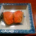 山中荘 - 朝食 塩鮭