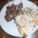 肉のヤマザキ - 料理写真:なんこつと砂肝です。