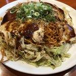 福ちゃん - 肉玉辛麺 麺W
