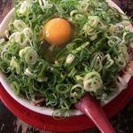 新福菜館 - 中華そば小 ネギ多め 肉多め 卵