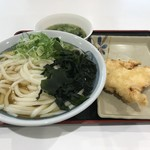 竹清 - ひやかけ2玉+鶏天 合計で560円