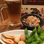 茶琥屋 - 料理写真:ほろ酔いセット1000円