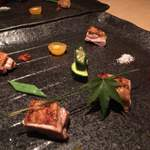 kiwa - 新潟地鶏の炙り焼き