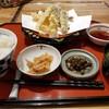 醍醐 - 料理写真:日替定食(海老と夏野菜の天麩羅)(税込980円)