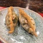 光壽おおやま - 料理写真:パクチー餃子