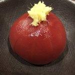 光壽おおやま - フルーツトマト(アメーラ)の出汁醤油漬け