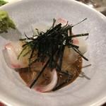光壽おおやま - 鯛ののゴマダレ