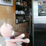 Yonchome Cafe - お店スタッフの出入り口