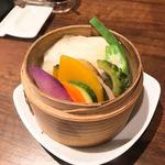 謝謝 - 彩り野菜のせいろ蒸し