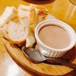モンリコ - 鶏白レバームースのパテ