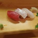 てら田 - 寿司3貫