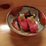 てら田 - 飛騨牛寿司
