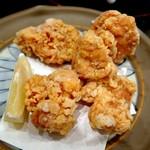どんぶり - 鶏もも肉の唐揚げ¥580