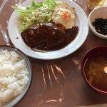90685225 - ハンバーグ定食(¥950)