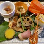 永源寺温泉 八風の湯 - 料理写真:(撮影 20180807)温泉でゆっくり…美味しい料理を、量もちょうど良い。