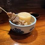 Terikushi - 大根、和牛すじ