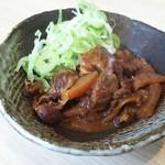 90687320 - 味噌煮込み牛たん単品(並)