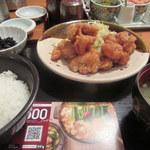 やまや - 料理写真:唐揚げ定食