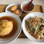 餃子の王将 - バリバリセット(800円)