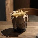 ハチカフェ - ポテトフライ