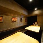ロテヤキ。酒場。メリケン - 隠れ家的半個室席