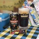 おでんしゃ - ブラックサンダー&黒ビール