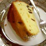 ティーハート - ブランデーレーズンケーキ