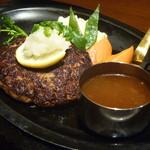 丸の内ディンドン - ハンバーグステーキ 和風おろしソース