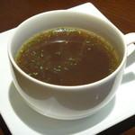 丸の内ディンドン - オニオンコンソメスープ