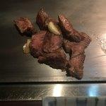 磐梯 - 料理写真:牛ロース120g