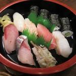 絆 - トキヨ鮨のおすし 1~2人前盛り合わせ