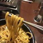 90691428 - ゴワゴワ太麺(^-^)