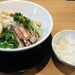 布施 細見商店 - 料理写真:カレーまぜそば(〆ごはんつき)