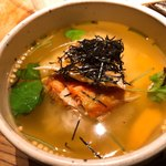秋葉原魚金 - お茶漬け 鮭 480円