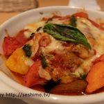 洋食カフェ フライパン - 手こねハンバーグ 夏野菜のラタソース