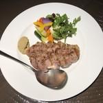 ビストロ アルモニー - マンガリッツア豚のグリル